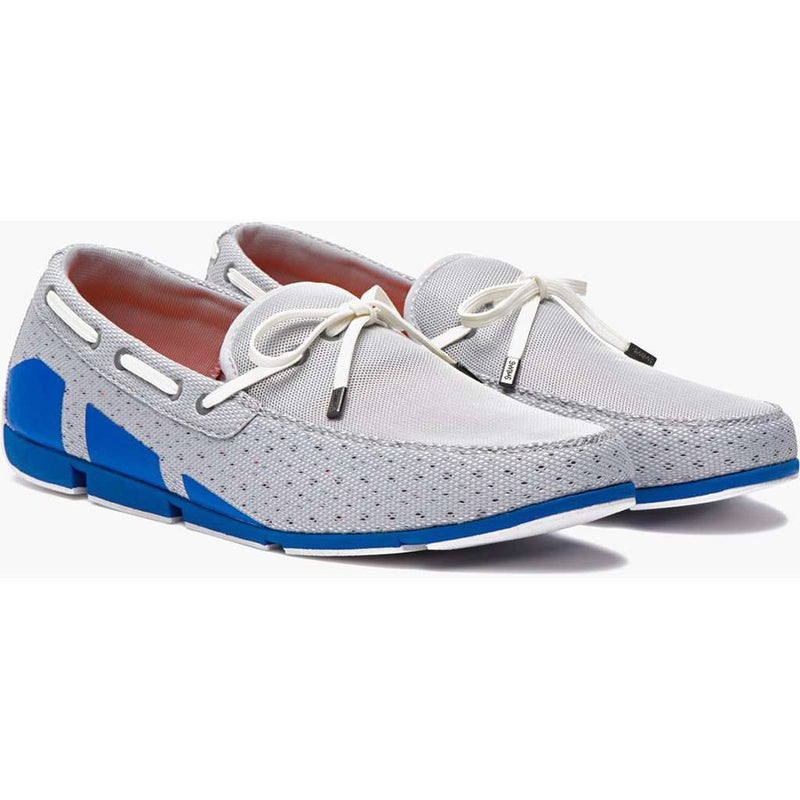 Men's Footwear - Water Resistant Breeze Loafer In Grey/Blue Blitz By SWIMS