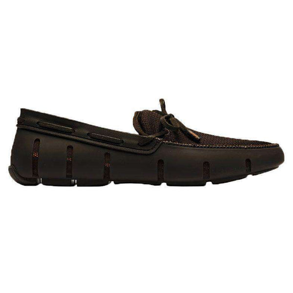Men's Water Resistant Lace Loafer in Brown by SWIMS - FINAL SALE