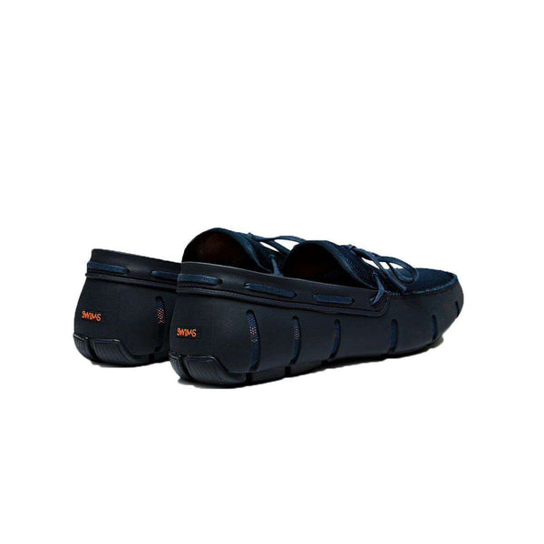 Men's Water Resistant Lace Loafer in Navy by SWIMS - FINAL SALE