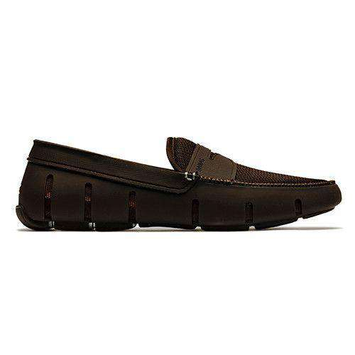 Men's Footwear - Water Resistant Penny Loafer In Brown By SWIMS