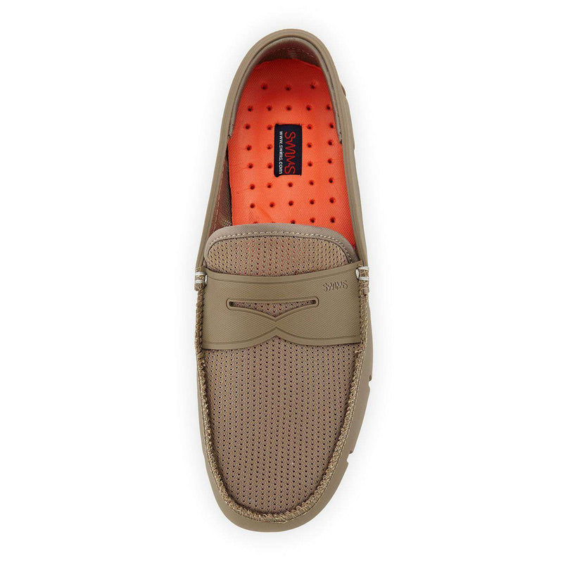 16e2ca4896f SWIMS Water- Resistant Penny Loafer in Khaki – Country Club Prep