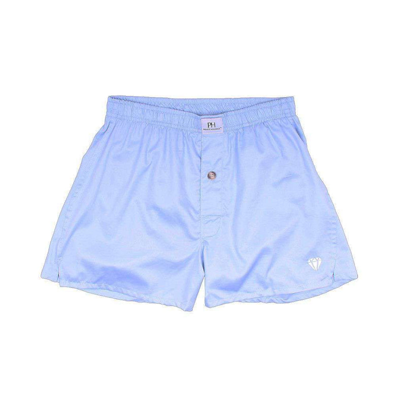 Men's Loungewear/Boxers - Business Blue Boxer/Brief By Private Holdings