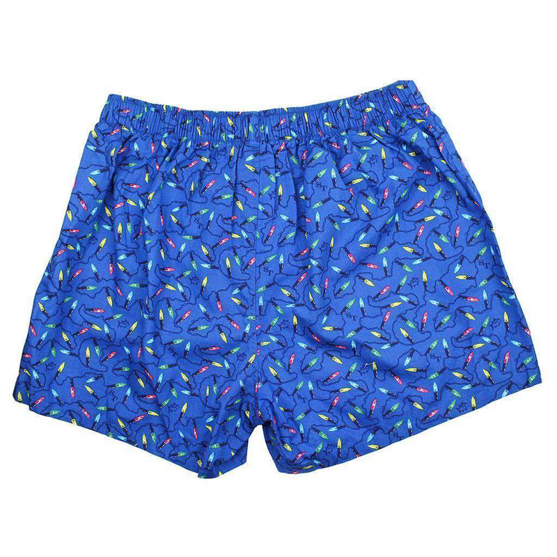 Christmas Light Boxers in Classic Blue by Southern Tide