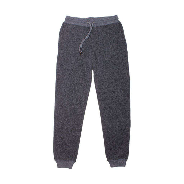 Dual Knit Sweatpant in Washed Black by Faherty - FINAL SALE