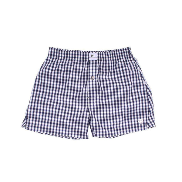 Men's Loungewear/Boxers - Gulfstream Gingham Boxer/Brief By Private Holdings