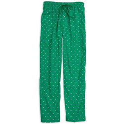 Men's Loungewear/Boxers - Men's Skipjack Lounge Pants In Evergreen By Southern Tide