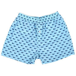 Men's Loungewear/Boxers - Men's Whale Boxers By Malabar Bay - FINAL SALE