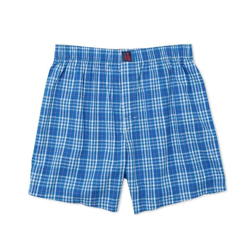 Men's Loungewear/Boxers - Navigator Boxers In Oasis By Johnnie-O - FINAL SALE