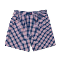 Men's Loungewear/Boxers - Scout Boxers In Helios Blue By Johnnie-O - FINAL SALE