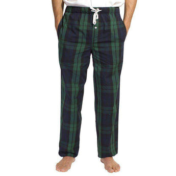 Men's Loungewear/Boxers - Sleeper Pants In Blackwatch By Castaway Clothing - FINAL SALE