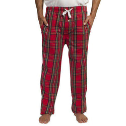 Men's Loungewear/Boxers - Sleeper Pants In Royal Stewart By Castaway Clothing