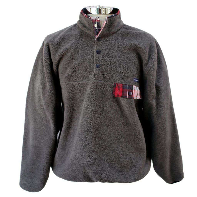 Men's Outerwear - All Prep Pullover In Grey By Southern Proper - FINAL SALE