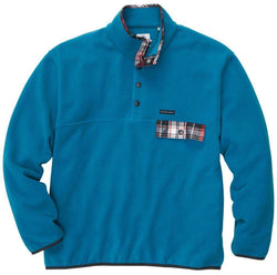 Men's Outerwear - All Prep Pullover In Turquoise By Southern Proper