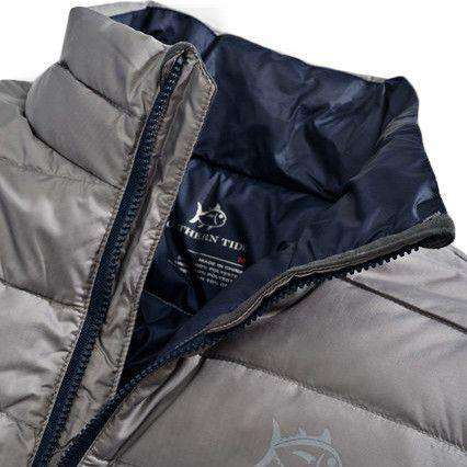 Altitude Down Jacket in Steel Grey by Southern Tide