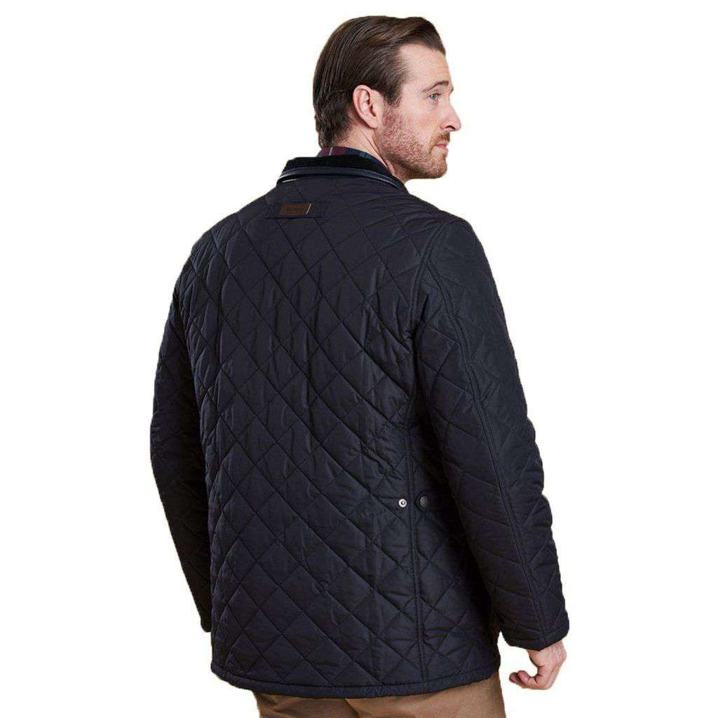 Barbour Devon Quilted Jacket in Navy – Country Club Prep : barbour quilted jackets sale - Adamdwight.com