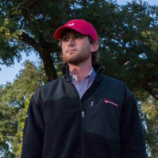 FieldTec Fleece Jacket in Black by Southern Marsh - FINAL SALE