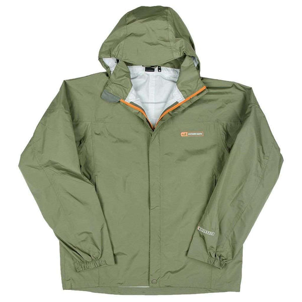 Men's Outerwear - FieldTec Rain Jacket In Sandstone By Southern Marsh - FINAL SALE