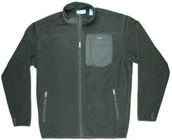 Men's Outerwear - Fleece Jacket In Black By Coast - FINAL SALE