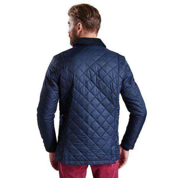 Men's Outerwear - Fortnum Quilted Jacket In Navy By Barbour