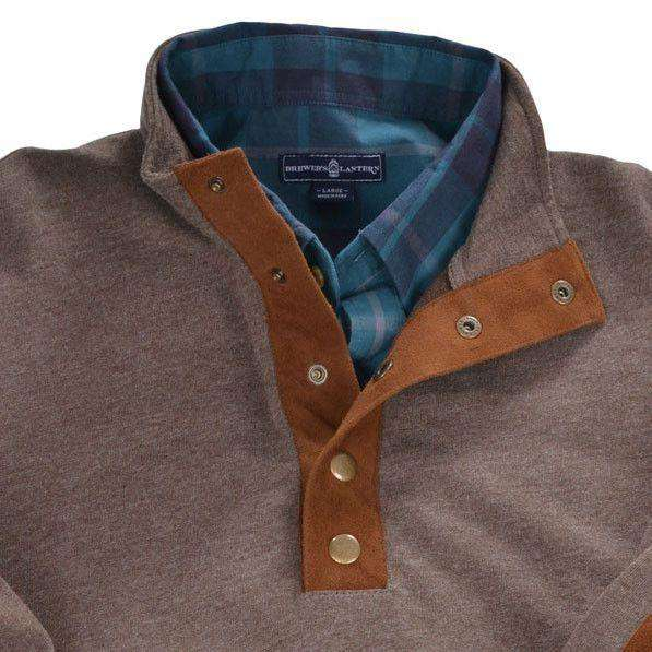 Henley Pullover in Woodsmoke by Brewer's Lantern - FINAL SALE