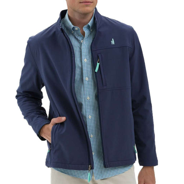Hutch Jacket in Atlantic by Johnnie-O - FINAL SALE