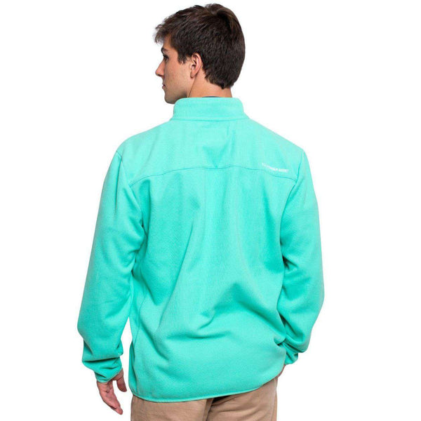 Keeler 1/4 Zip Pullover in Florida Keys by The Southern Shirt Co.