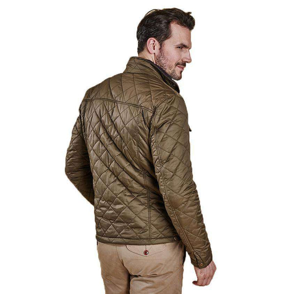 46074fff86d0 Men s Outerwear - Laggan Quilted Jacket In Olive By Barbour ...