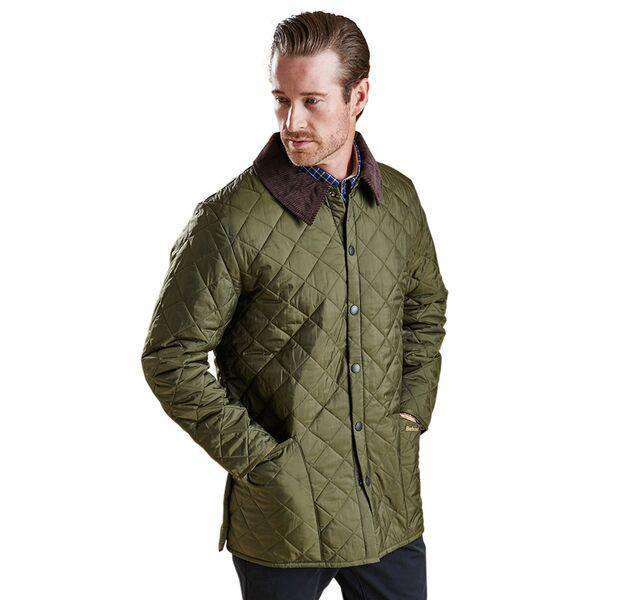9feb57bf1c66 Men s Outerwear - Liddesdale Quilted Jacket In Olive By Barbour