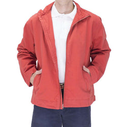 Men's Outerwear - Mariner Jacket In Island Red By Castaway Clothing - FINAL SALE