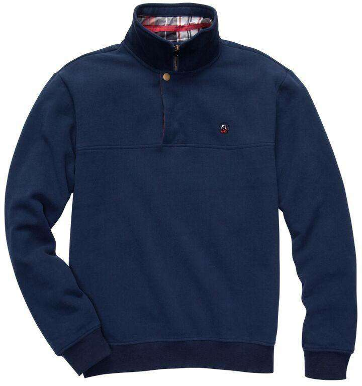 Thomas Pullover in New Deep Navy by Southern Proper