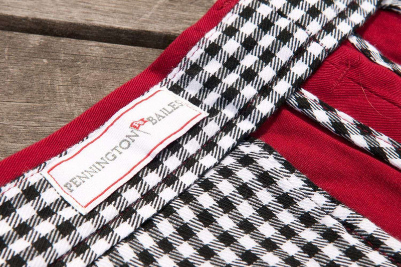 Men's Pants - Alabama Stadium Pant In Crimson By Pennington & Bailes