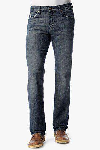Austyn Relaxed Straight Leg Jean in Melbourne by 7 For All Mankind - FINAL SALE