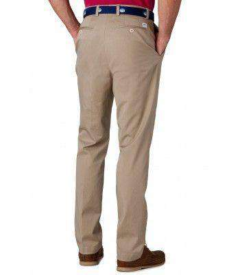 Channel Marker II Tailored Fit Pants in Khaki by Southern Tide