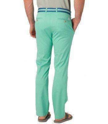 Channel Marker Tailored Fit Summer Pants in Bermuda Teal by Southern Tide