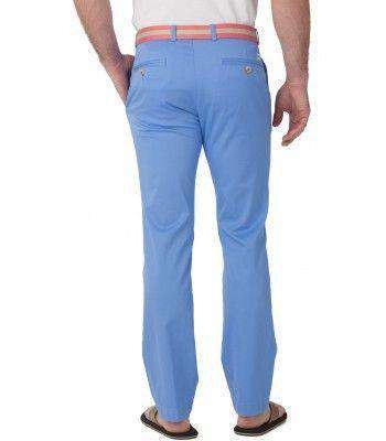 Channel Marker Tailored Fit Summer Pants in Ocean Channel by Southern Tide