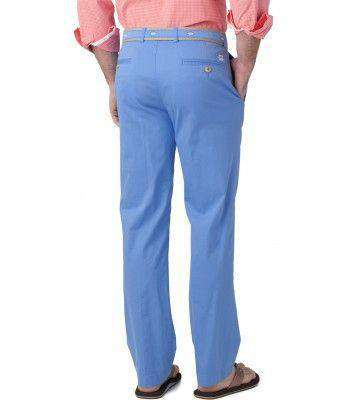 Men's Pants - Classic Fit Summer Pants In Ocean Channel By Southern Tide