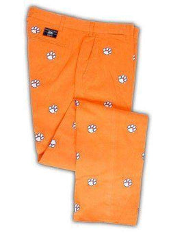 Men's Pants - Clemson Stadium Pant In Orange By Pennington & Bailes
