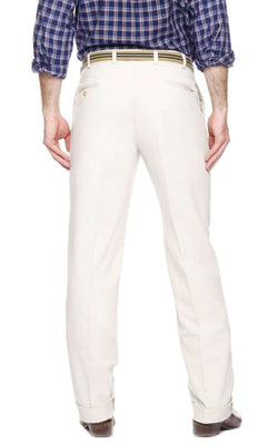 Men's Pants - Dalton Pant Stone - Pleated By Jack Donnelly Khakis
