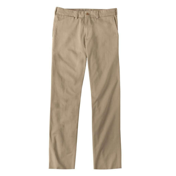 Men's Pants - M3 Original Twill Straght Fit Pant In Khaki By Bill's Khakis