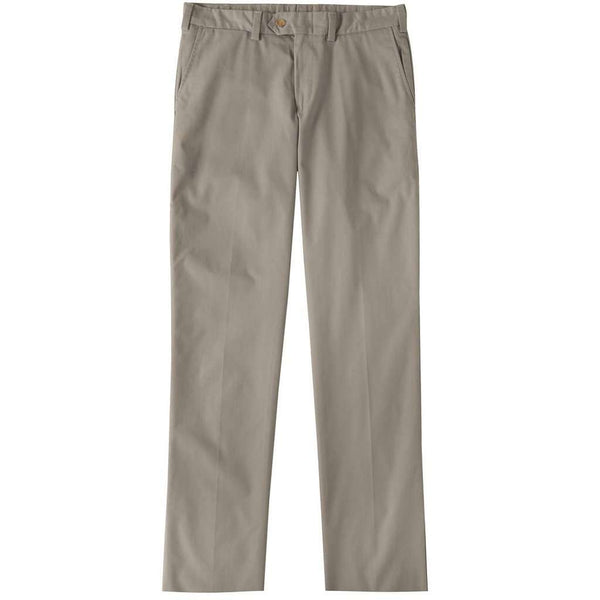 Men's Pants - M3 Travel Twill Pants In Khaki By Bill's Khakis