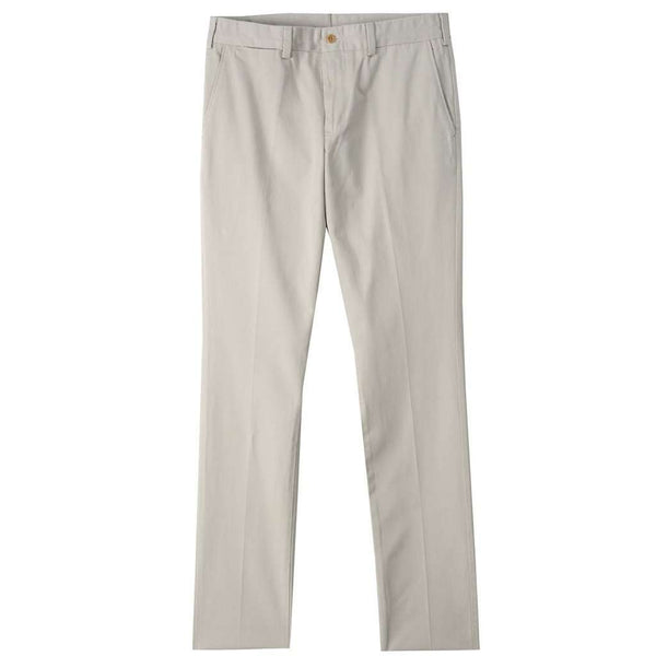 Men's Pants - M4 Original Twill Slim Fit Pant In Cement By Bill's Khakis