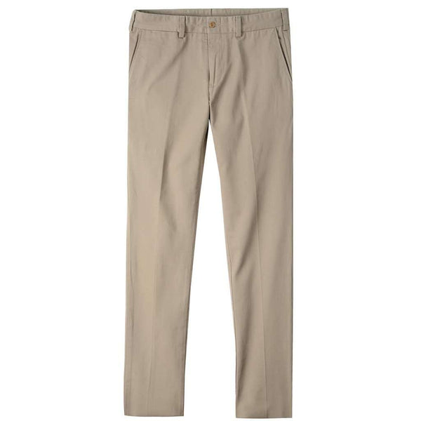 Men's Pants - M4 Original Twill Slim Fit Pant In Khaki By Bill's Khakis