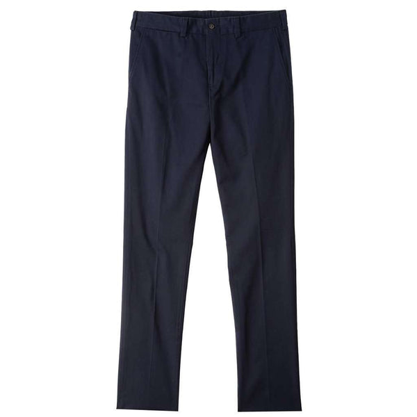 Men's Pants - M4 Original Twill Slim Fit Pant In Navy By Bill's Khakis