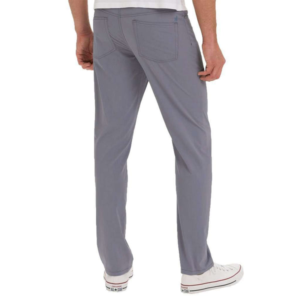 Men's Pants - Marin Prep-Formance Pant In Cloud Break By Johnnie-O