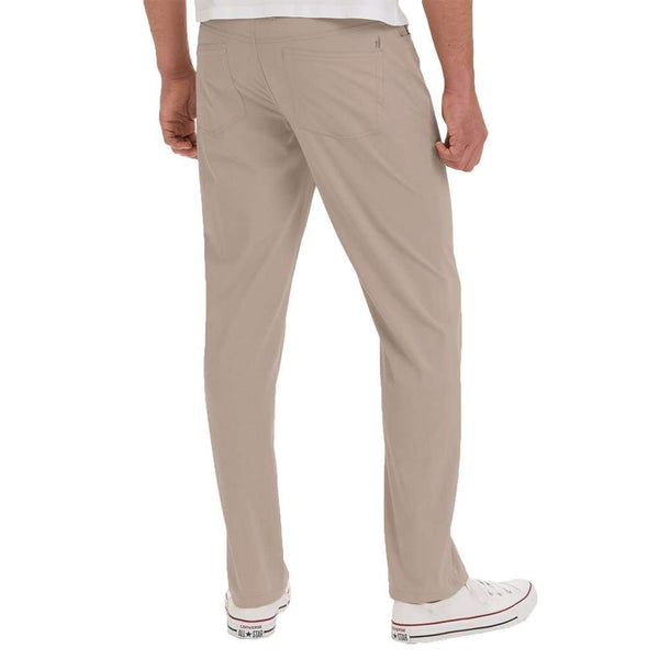 Marin Prep-Formance Pant in Light Khaki by Johnnie-O