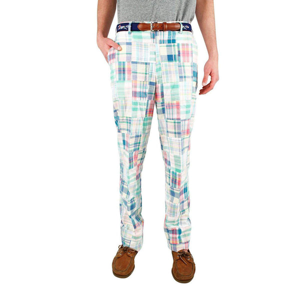 Pastel Madras Pants by Country Club Prep