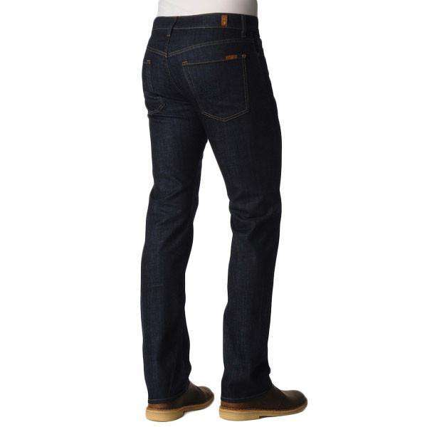 Standard Classic Straight Leg Jeans in Dark and Clean by 7 For All Mankind - FINAL SALE