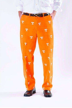 Men's Pants - Tennessee Stadium Pant In Orange By Pennington & Bailes