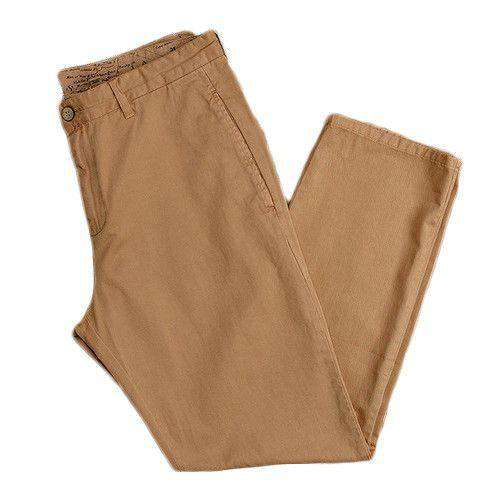 The Seawash Grayton Twill Pant in Khaki by Southern Marsh