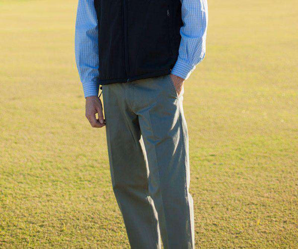 The Wharf Pant in Stonewall Olive by Southern Marsh - FINAL SALE